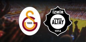 Galatasaray Altay maçını canlı izle