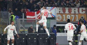 Merih Demiral ve Roanldo'nun gol sevinci