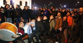 Sivas'ta Beşiktaş galibiyeti sevinci