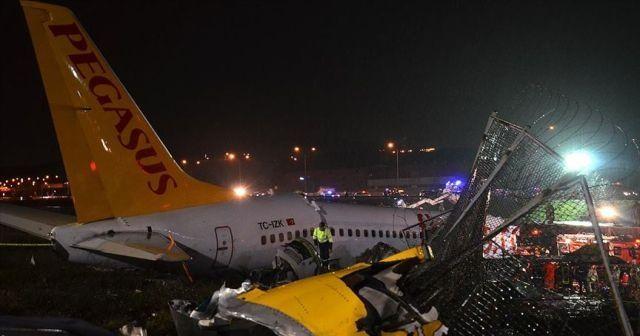Sabiha Gökçen Havalimanı'ndaki uçak kazasında kahreden detay!
