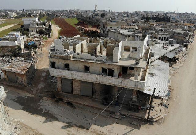 Rejimin vurduğu Atarib hayalet şehre dönüştü!