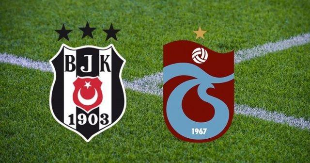 Beşiktaş Trabzonspor maçı canlı izle! Canlı skor kaç kaç?