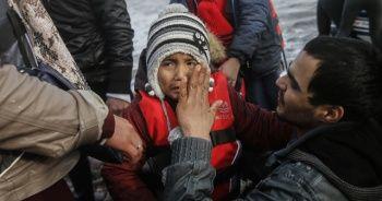Göçmenler Yunanistan'a ayak bastı