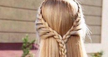 Okul için saç modelleri kolay pratik ve hoş okul modelleri