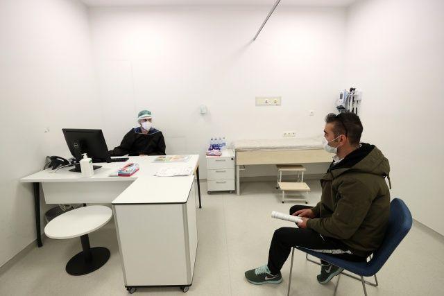 Ankara Şehir Hastanesinde Covid-19 teşhis ve tedavi süreçleri görüntülendi