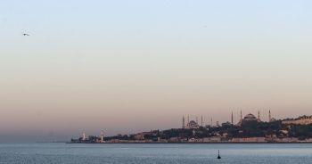 İstanbul'da sabah saatlerinde kartpostallık görüntüler