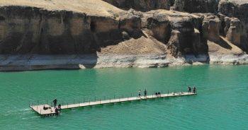 9 milyon yıllık kanyonlar için iskeleler çekildi