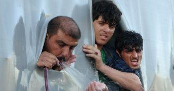 Tır dorsesinde yaşam savaşı: 115 mülteci bitkin halde bulundu