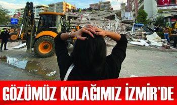 Deprem sonrası İzmir'den korkutan fotoğraflar!