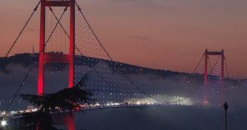 İstanbul Boğazı'ndan kartpostallık görüntüler