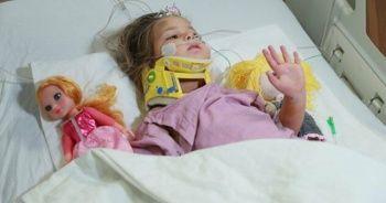91 saat sonra enkazdan kurtarılan Ayda'nın hastaneden ilk fotoğrafları