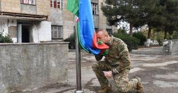 Cumhurbaşkanı Aliyev'den Karabağ'da zafer turu!