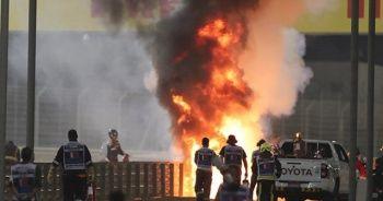 Formula 1'de korkunç kaza: Araç ikiye bölündü