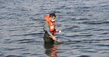 Burdur Gölü'ndeki gaz çıkışları incelendi
