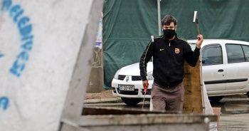 Plastik toplayarak hazırlandığı KPSS'de Türkiye 25'incisi oldu