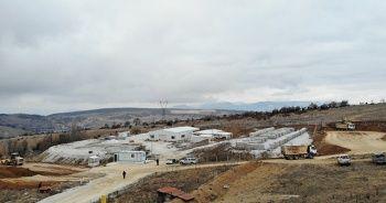 Söğüt'teki dev altın rezervinin bulunduğu maden sahası görüntülendi