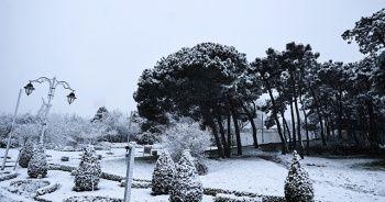 İstanbul'dan muhteşem kar manzaraları