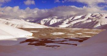 Dilimli Barajı tamamen dondu
