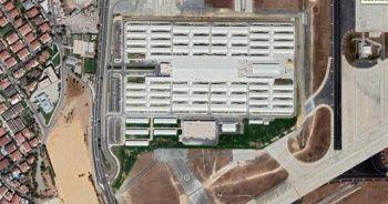 İstanbul'un pandemi hastanesi uydu görüntülerine yansıdı