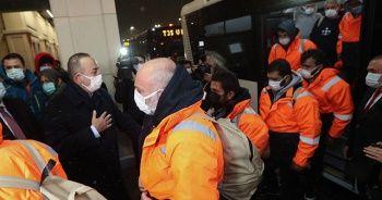 15 gemici, THY uçağıyla İstanbul'a getirildi
