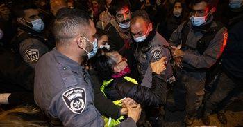 Netanyahu karşıtı gösteri düzenlendi