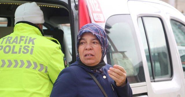 Oğlu polise çarpan annenin gözyaşları