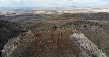 Kapadokya'nın figürleri uzaydan bile görünüyor
