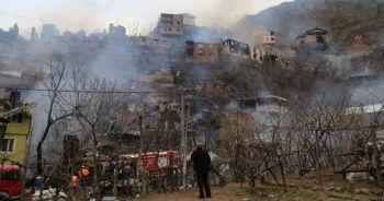 24 yılda 3 büyük yangın: 60 ev kül oldu