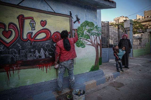 İdlib'de savaşın gölgesinde Ramazan