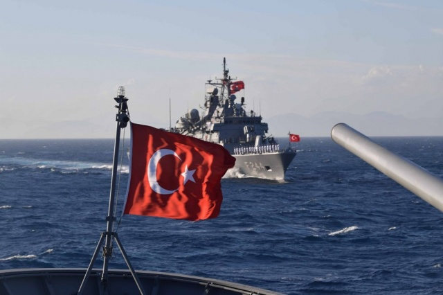 İsrailli üniversite: Türk donanması, Doğu Akdeniz'deki en güçlü donanma