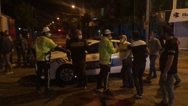 Trafik kazası sonrası 'FETÖ' kavgası