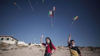 Gazze'de umutlar uçurtma oldu