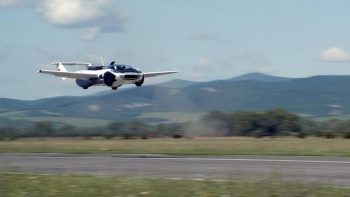 Uçan arabalar geliyor: 35 dakikalık test başarıyla tamamlandı