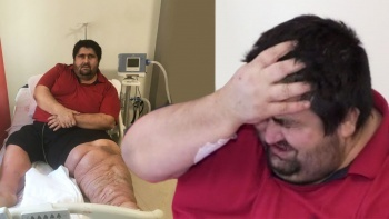 300 kiloluk esnaf en büyük hayalini ağlayarak anlattı