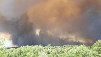 Manavgat alevlere teslim: Yangın yerleşim yerlerine sıçradı