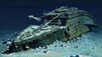 Titanik'e yapılan son deniz seferinden yeni görüntüler