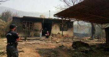 Felaketin boyutu gün ağarınca ortaya çıktı! Akseki'deki yangından yürek burkan kareler