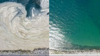 7/24 çalışma sonuç verdi: İşte Marmara Denizi'nin müsilajdan önceki ve sonraki hali