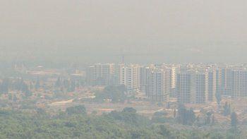 Antalya'ya duman çöktü