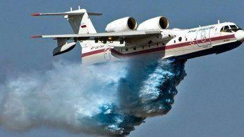 Dünyanın en büyük ve güçlü yangın söndürme uçakları
