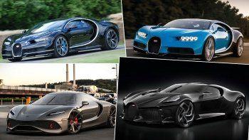 2021 - Dünyanın en hızlı ve pahalı arabaları