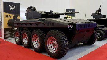 İşte yerli ve milli elektrikli insansız kara aracı Alkar R8