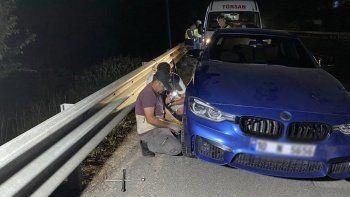 TEM otoyolunda ilginç olay: Onlarca aracın lastiği neden patladı?