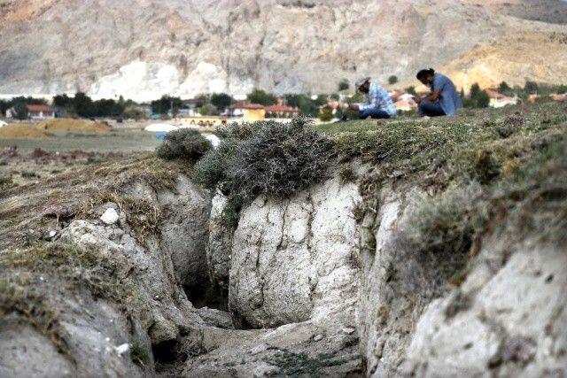 Konya Ovası'nda korkutan görüntü