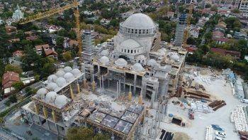 Barbaros Hayrettin Paşa Camii 2022 yılı içerisinde ibadete açılacak
