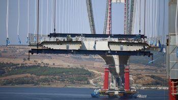 Çanakkale Köprüsü'nde sona doğru