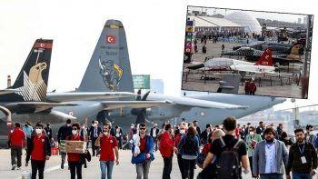 'En havalı' festival TEKNOFEST yoğun ilgiyle başladı