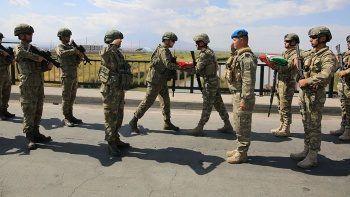 Nahçıvan'da ortak askeri tatbikat