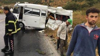 Karayolu savaş alanına döndü: Ölü ve çok sayıda yaralı var