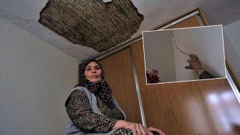 Evler sabah akşam sallanıyor: Deprem değil tır yıkacak
